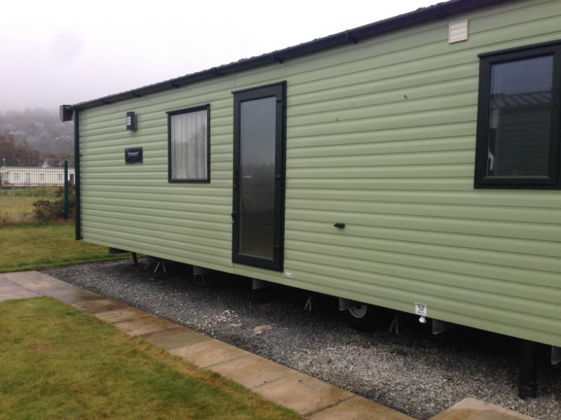 Awesome Twin Unit Caravan Siting Emstrey Shrewsbury