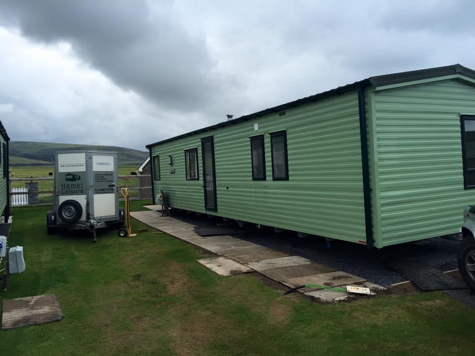 Innovative Caravan Siting Tywyn Gwynedd