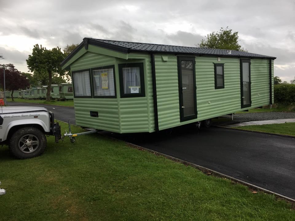 New Caravan Repair Tywyn Mid Wales