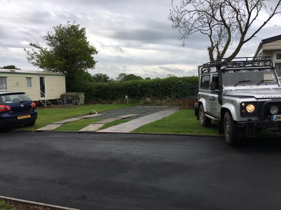 Simple Caravan Siting Harlech Gwynedd
